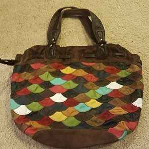 Lucky Brand Leather Multicolor Purse